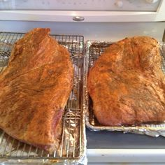 Brisket heading to the smoker/grill. See ya in 16 hours. #kbiscookoff