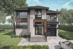 Dream Home Design, Small House Design, Home Design Plans, My Dream Home, House Front, My House, La Salette, Ad Home, Small Modern Home
