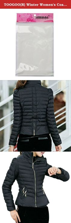 TOOGOO(R) Winter Women's Coats Slim Office Epaulet Zippers Ladies Jackets Coat Black XL. * TOOGOO is a registered trademark. ONLY Authorized seller of TOOGOO can sell under TOOGOO listings.Our products will enhance your experience to unparalleled inspiration. TOOGOO(R) Winter Women's Coats Slim Office Epaulet Zippers Ladies Jackets Coat Black XL Product Description Color: Black Size(CM): XL--Chest:98--Shoulder:39--Sleeve:58--Length:60;Fit Weight:52.5-57.5KG Hooded:No Fabric…