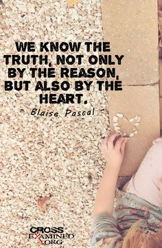 Quote from Blaise Pascal. #Truth