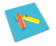 Podkładka kwadratowa HOT DOG 30 x 30