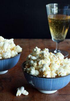 Alton Brown's Triple Cheese Popcorn Recipe