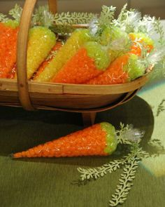 Cello Bag Carrots How-To