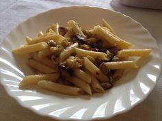 #Pasta con #zucchine e #melanzane a cubetti!!!