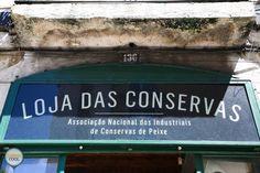 Loja das Conservas - Lisboa Portugal, Custom Labels, Broadway Shows, Preserve, Tin Cans, Lisbon, Personalized Labels
