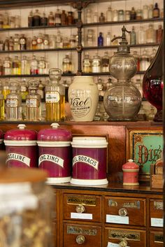 Victorian chemist shop by Dr Sam C
