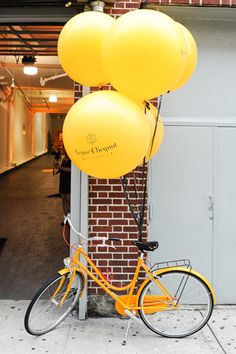 Branding Design at Corporate Events — Wild Sky Events: Event Production Agency… - corporate event design Event Branding, Corporate Event Design, Veuve Cliquot, No Ceilings, Mellow Yellow, Event Styling, Event Decor, Event Ideas, Balloons