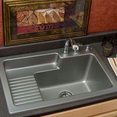 Metallic Steel Single Basin Acrylic Laundry Sink Corstone Industries  Utility U0026 Laundry Kit