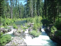 Rogue River, near Crater Lake in Oregon.