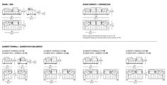Sofa FREEMAN SEATING SYSTEM By Minotti design Rodolfo Dordoni