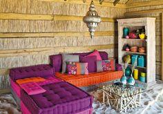 Muebles bajos para espacios chill-out