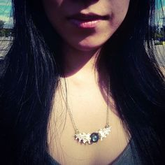 Check out THIS amazing pic from Raven-haired goddess @xinthetic  That necklace looks killer on you!  #lovemycustomers