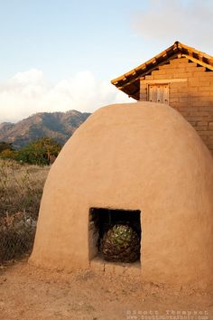 """""""Earthen Agave Oven""""- This earthen agave oven is used in the making of tequila and ricea. Photographed near San Sebastian, Mexico."""