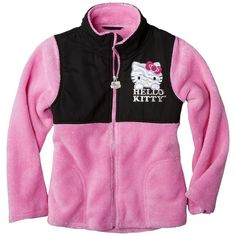Hello Kitty Girls Fleece Jacket ($30) ❤ liked on Polyvore featuring kids and girl clothes