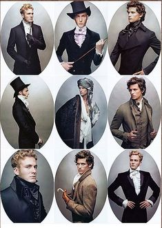 regency era mens clothes
