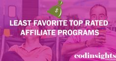 top rated affiliate programs