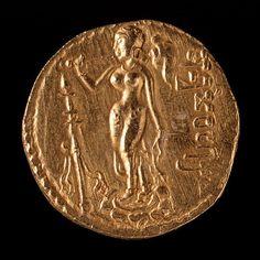 gold dinar of samudraqupta  india 335