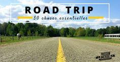 L'organisation est la clé de la réussite de votre Road Trip aux Etats-Unis. Découvrez la liste des 50 choses essentielles à amener avec vous sur la route ! Road Trip Usa, Plus Rien, Travel Usa, Country Roads, United States, California, Camping, Explore, World