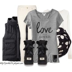 """""""Love the UGG"""" by jewhite76 on Polyvore"""