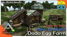 Ark Survival Evolved Tips, Dinosaur Games, Egg Farm, Minecraft Architecture, Don't Forget, Gaming Accessories, Youtube, Building Ideas, Airsoft