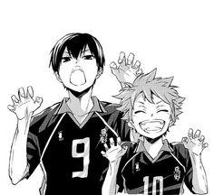 Hinata e Kageyama | Haikyuu!!