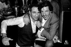 John Caudrelier et Foued Allik CEO Elite Model Look Belgium, Elite fashion Academy.