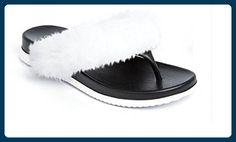 Koo-T , Damen Zehentrenner, schwarz - schwarz - Größe: 35.5 - Zehentrenner für frauen (*Partner-Link)