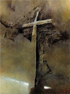 Untitled - Zdislav Beksinski Place of Creation: Poland Style: Surrealism Genre: symbolic painting