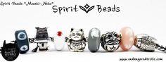 Features Trollbeads Kimono kit, Japan World Tour and Spirit Beads silvers - Meneki-Neko/Lucky Cat, Daruma Doll & Kokeshi Doll