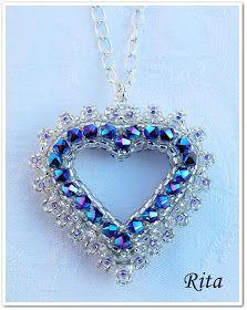 Rita gyöngyei: Passione / 2. Jewelry Patterns, Beading Patterns, Beading Ideas, Engagement Ring Sizes, Pendant Earrings, Bracelets, Beaded Jewelry, Diys, Jewelery
