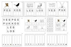 Výsledek obrázku pro kartičky český jazyk Montessori Materials, Montessori Activities, Kids Playing, Alphabet, Crafts For Kids, Language, Education, Learning, School