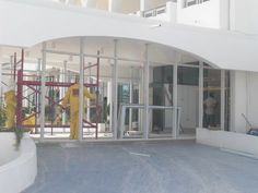 Compass International School , Doha | entrance (under construction)