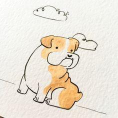 Cute watercolor dog portraits - Individual or sets - Originals