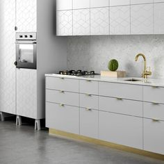 Kitchen doors and fronts for Ikea's frames designed by Superfront