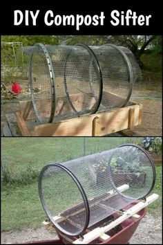 Trommel Compost Sifter - for sifting your compost and other organic matter. Trommel Compost Sifter - for sifting your compost and other organic matter.Trommel Compost Sifter - for sifting your compost and other organic matter.