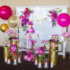 love this stunning set up by for a special little girls christening! Balloon Garland, Balloon Decorations, Birthday Decorations, Wedding Decorations, 25th Birthday, Birthday Parties, Happy Birthday, Girl Christening, Backdrops For Parties