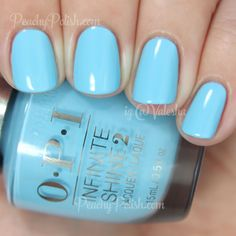 OPI — To Infinity & Blue-yond (Infinite Shine Collection) Opi Nail Colors, Gel Polish Colors, Opi Nail Polish, Opi Nails, Nail Colour, Nail Polishes, Shellac, Manicure And Pedicure, Mani Pedi
