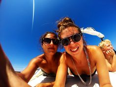 Love this girl. Day out in Es Grau, Menorca on a speed boat, chilling and snorkelling. #girlfriend #lesbian #lgbt #happy #love #blue #sky #travel