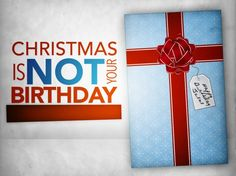 To remember when you're feeling overwhelmed about buying gifts or down about not getting the present that you want.