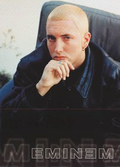 Mr Marshall Mathers looks dapper in his leather jacket in this great Eminem portrait poster. An original published in 2000! Fully licensed. Ships fast. 24x33 inches. Check out the rest of our awesome