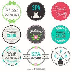 Beauty Badge Spa Badges Cosmetics Salon Center Beauty salon