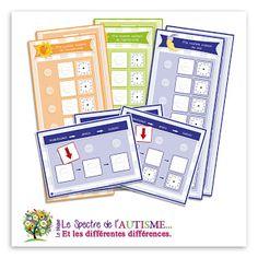Supports visuels et Routines - Téléchargement gratuit Le Trouble, Montessori, Parenting, Job, Adhd, Cursive Alphabet Letters, Visual Aids, Positive Quotes, Raising Kids