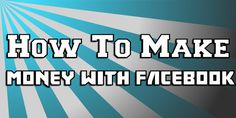 How to Make Money From Facebook Today With 4 Simple Steps. If you do not already know how to make money from Facebook, it's time to learn. Since its launching in February 2004, Facebook has more than 800 million active users as of July 2011. A January 2009 Compete.com ranked Facebook as...