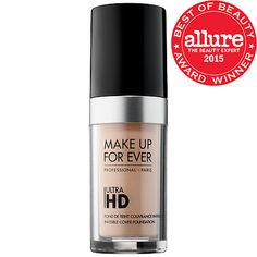 MAKE UP FOR EVER - Ultra HD Invisible Cover Foundation  in Y205 #sephora