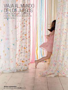 Mini home El Corte Inglés cortinas infantiles #Home #Deco