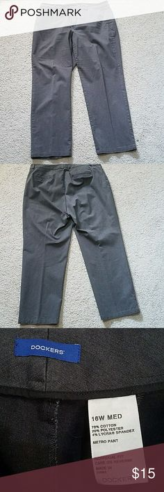 Dockers Pants Dockers gray pants. EUC Dockers Pants Trousers