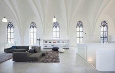 Igreja transformada em habitação_OKO Design