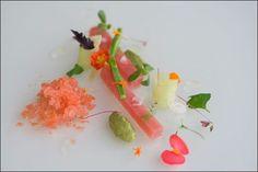 Tuna sashimi at Cucina de Autor, Riviera Maya, Mexico  Brad A Johnson (the blog)