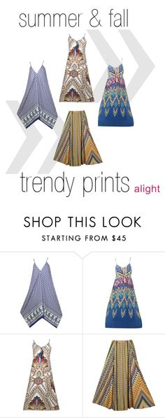 """""""trendy prints for summer & fall"""" by alight-com on Polyvore"""