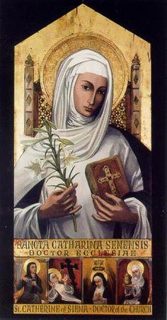Icon from St. Catherine of Siena parish, Metairie, Louisiana
